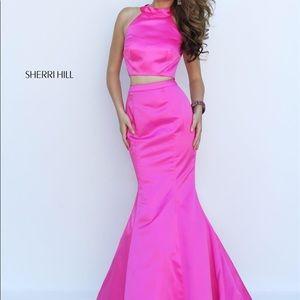 Pink 2 peice sherii Hill dress